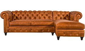 Kingsbridge Leather Sectional 2