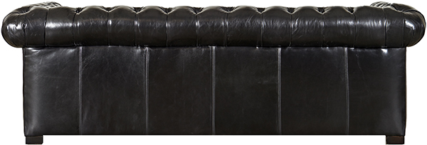 English Chesterfield Sofa Back View