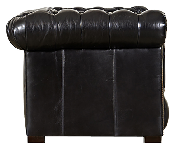 English Chesterfield Sofa Side View